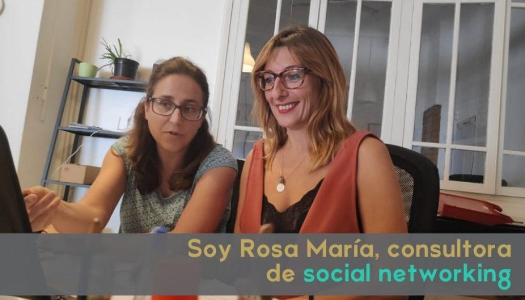 Soy Rosa, consultora de social networking